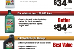 Castrol oil change prices